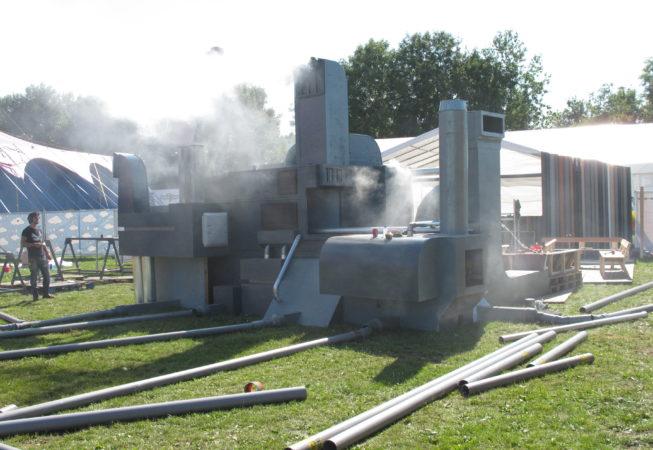 Testrun op Lowlands 2013
